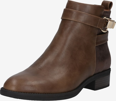 ABOUT YOU Bottines 'Johanna' en marron, Vue avec produit