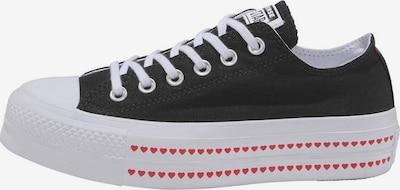 CONVERSE Sneaker 'Chuck Taylor All Star Lift Ox Love Fearlessly' in rot / schwarz / weiß, Produktansicht