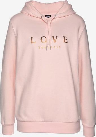 BUFFALO Kapuzensweatshirt in Pink