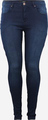 Zizzi Jeans 'AMY' in Blue