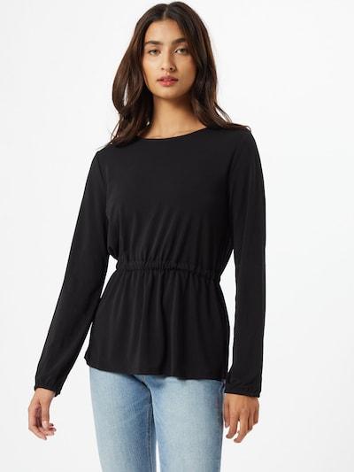 VILA Koszulka 'TELMA' w kolorze czarnym: Widok z przodu