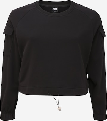 Urban Classics Curvy Sweatshirt i svart