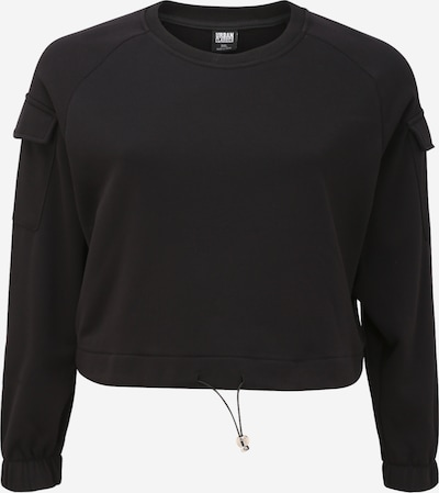 Megztinis be užsegimo iš Urban Classics Curvy , spalva - juoda, Prekių apžvalga