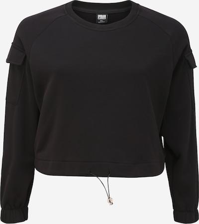 Urban Classics Curvy Sweater majica u crna: Prednji pogled