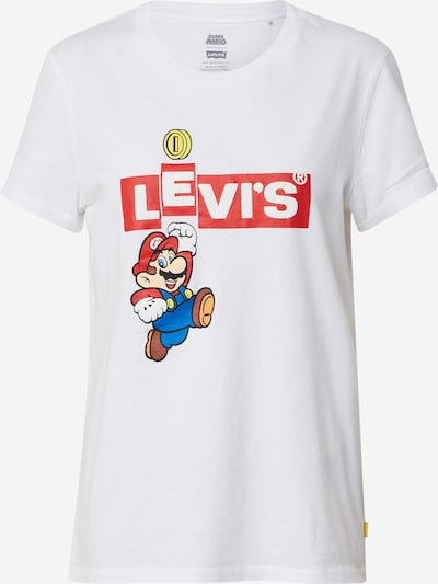 LEVI'S Shirt 'THE PERFECT TEE' in de kleur Wit, Productweergave