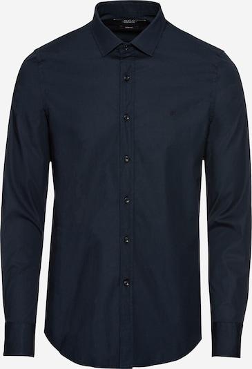 REPLAY Hemd in nachtblau, Produktansicht