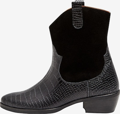 FELIPA Cowboy Boots in schwarz, Produktansicht