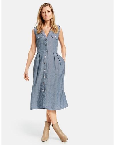 GERRY WEBER Kleid in blaumeliert, Modelansicht