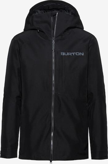 BURTON Outdoorjas 'Radial' in de kleur Zwart, Productweergave