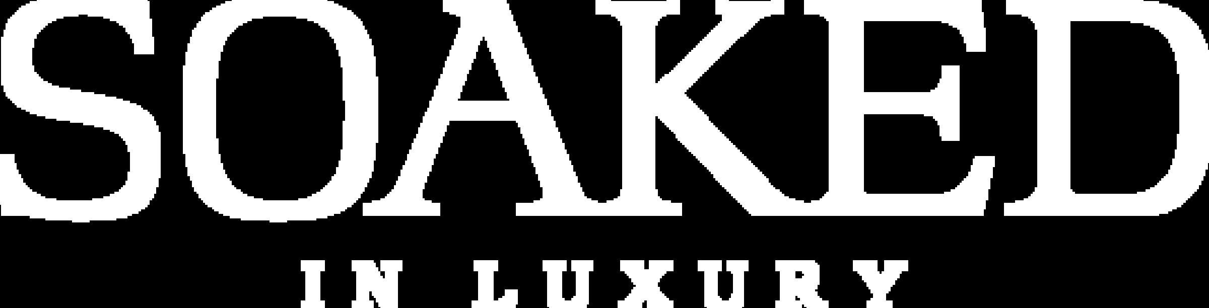 SOAKED IN LUXURY Logo