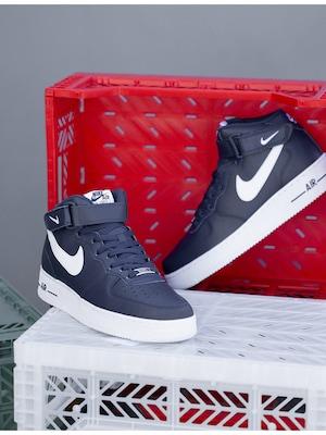 Nike Air Force 1 v čiernej farbe
