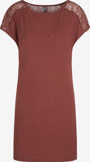 LingaDore Nachthemd 'SAN' in rostrot, Produktansicht