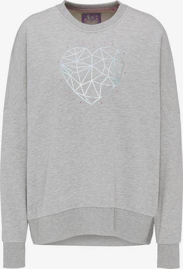 MYMO Sweatshirt in de kleur Grijs gemêleerd / Zilver, Productweergave