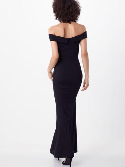 WAL G. Kleid 'WG 8520' in schwarz: Rückansicht