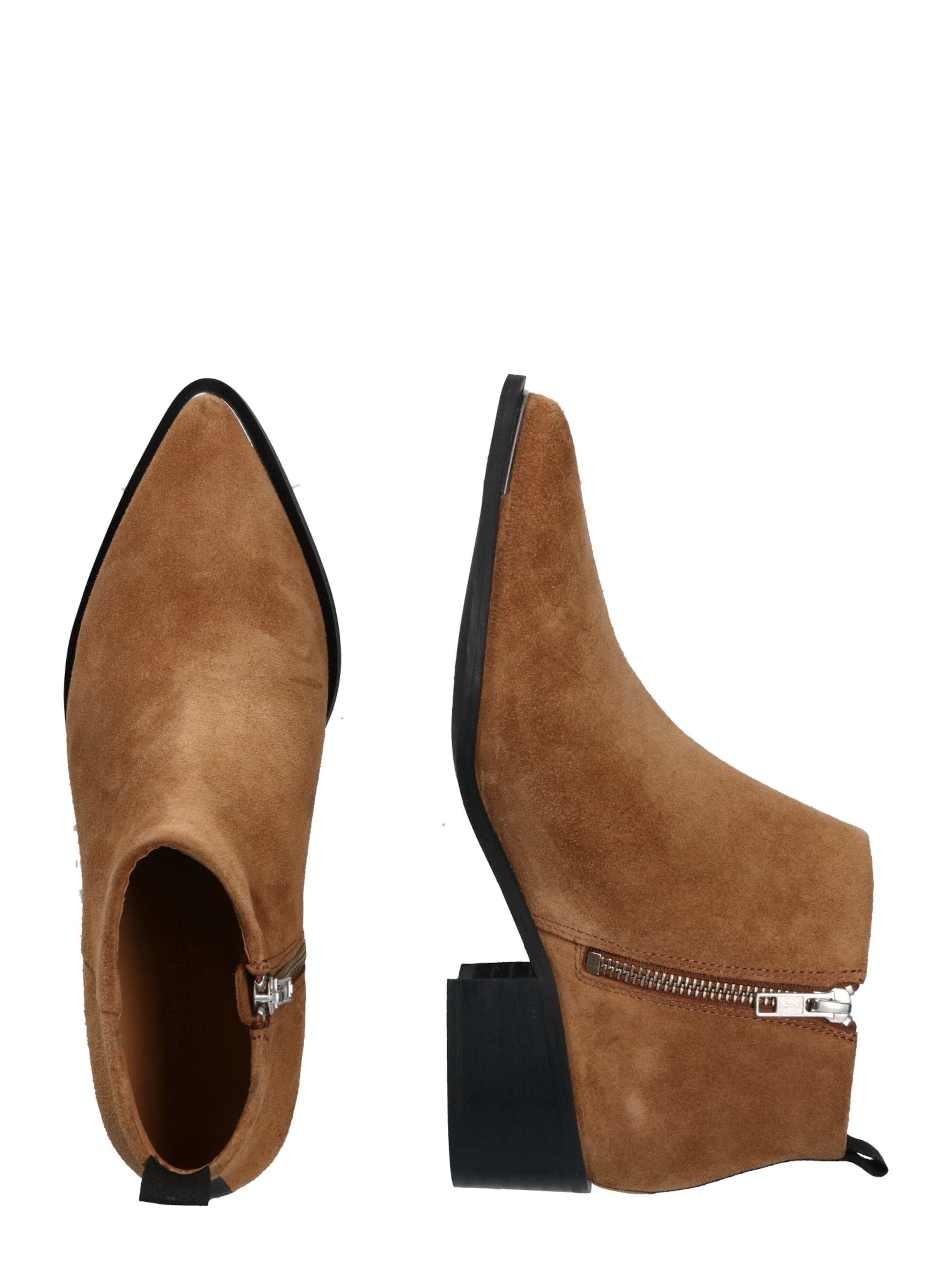 Samsoeamp; Samsoeamp; Ankle Boots In Braun Boots Ankle In 2I9YWEDH