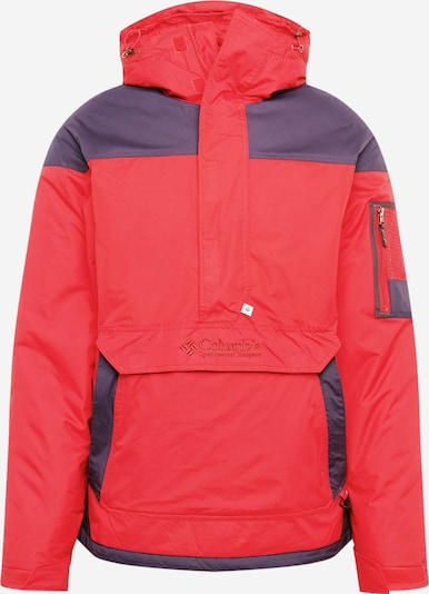 COLUMBIA Windbreaker 'Challenger' in lila / rot, Produktansicht