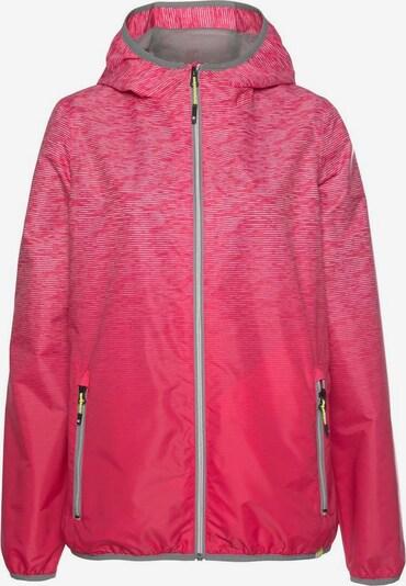 KILLTEC Regenjacke 'Kaira' in pink / hellpink, Produktansicht