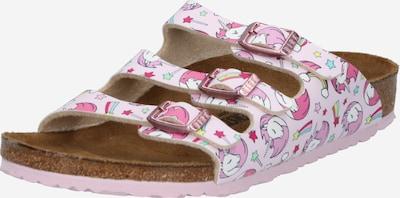 BIRKENSTOCK Schuhe 'Florida' in pink / rosa / weiß, Produktansicht