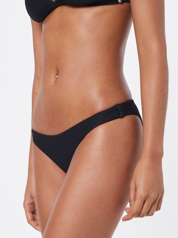 Seafolly Dół bikini w kolorze czarny