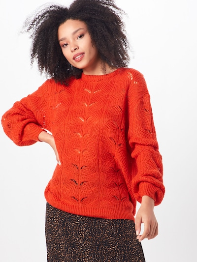 ABOUT YOU Pullover 'Joyce' in orange, Modelansicht
