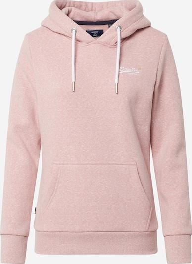 Superdry Sweatshirt 'ORANGE LABEL OVERHEAD' in rosa, Produktansicht