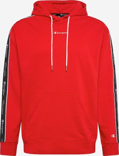 Champion Authentic Athletic Apparel Hoodie in rot / schwarz, Produktansicht