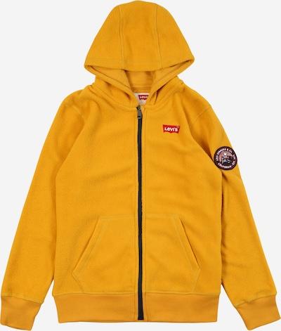 LEVI'S Fleece jas in de kleur Goudgeel, Productweergave