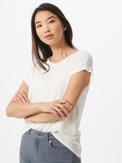 Tricou 'Alina' Hailys pe alb: Privire frontală