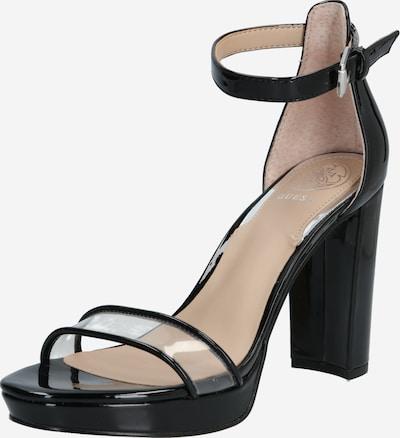 GUESS High Heels 'OMERA' in schwarz: Frontalansicht