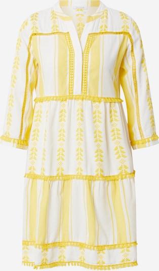 Rich & Royal Šaty - žlutá / bílá: Pohled zepředu