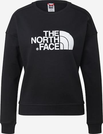 THE NORTH FACE Sweatshirt 'Drew Peak' in Black