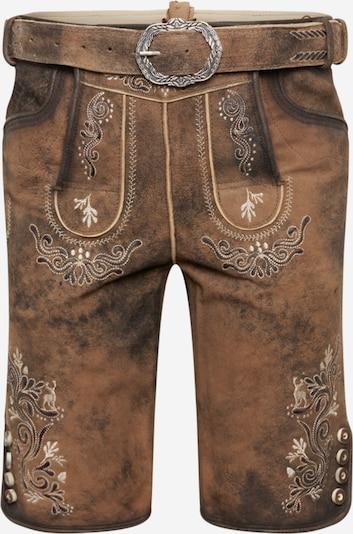 Pantaloni per costume tradizionale 'Anton' MARJO di colore marrone, Visualizzazione prodotti