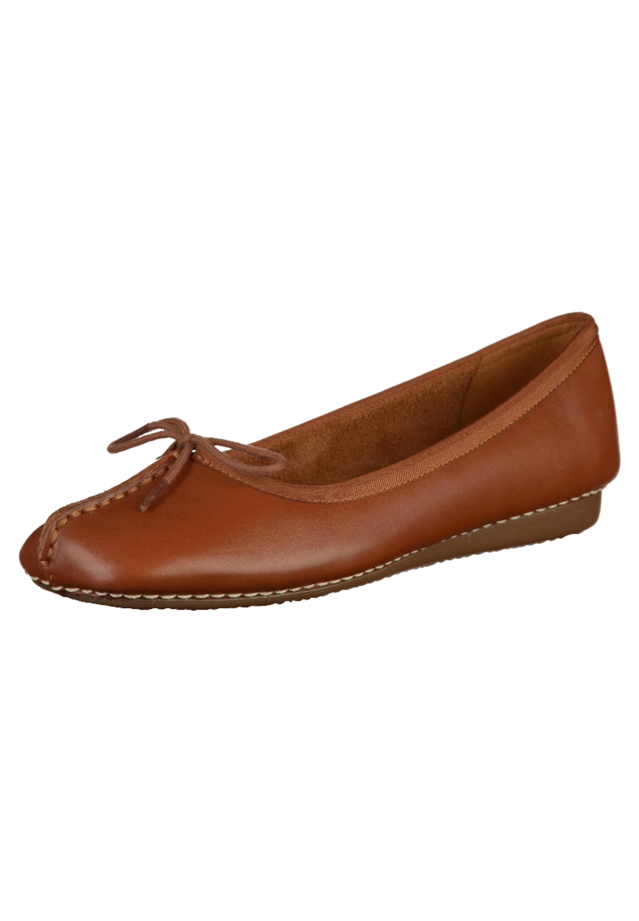 CLARKS Ballerinas Verschleißfeste billige Schuhe Hohe Qualität