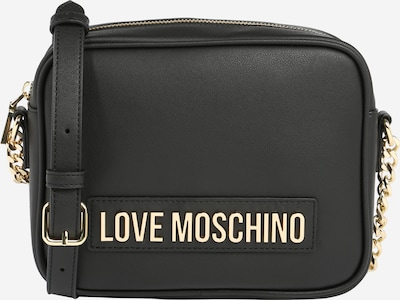 Love Moschino Tasche 'Smooth' in gold / schwarz, Produktansicht