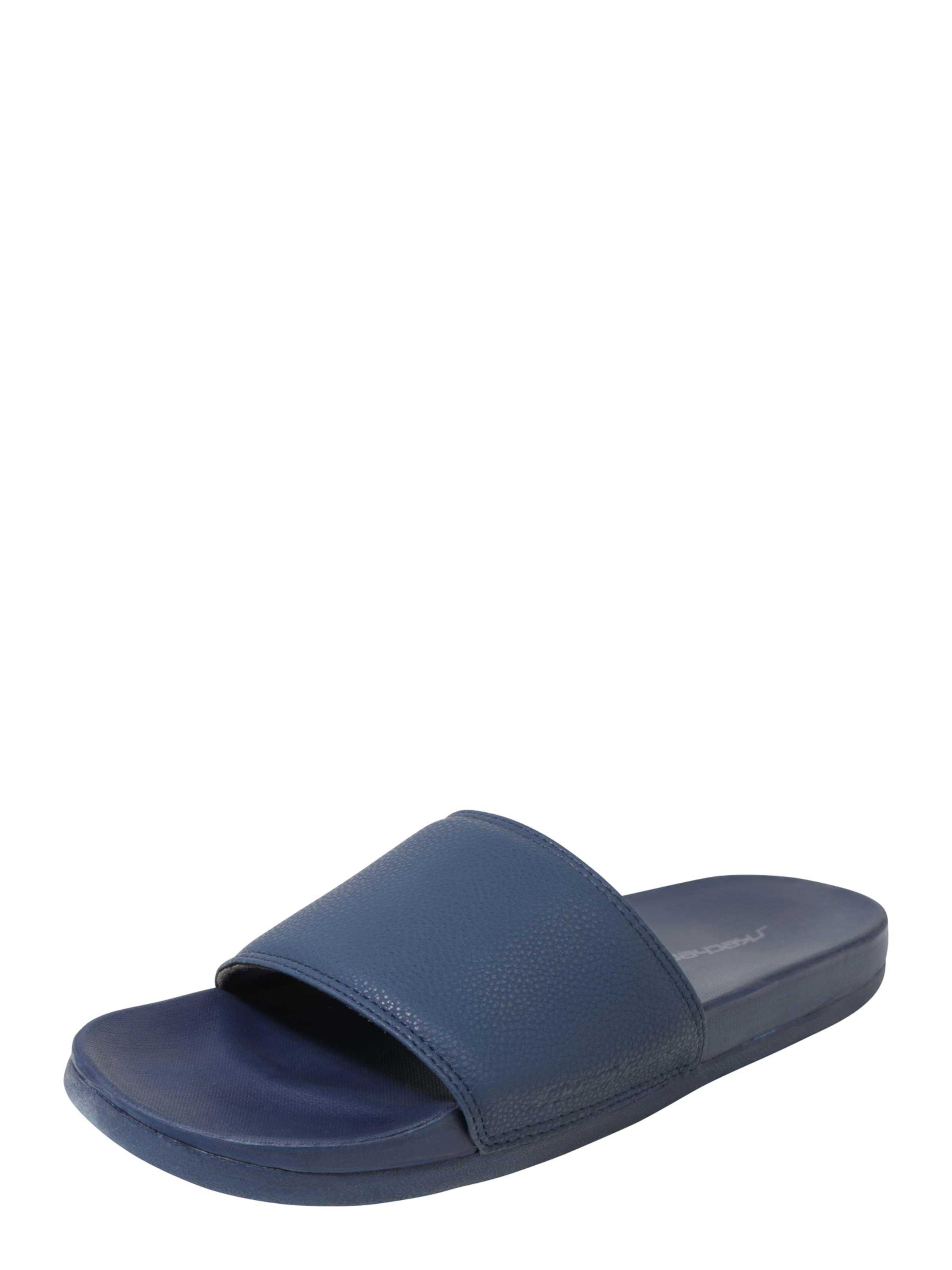 De Slide 'le Noir Pantoufles Skechers OmZZU