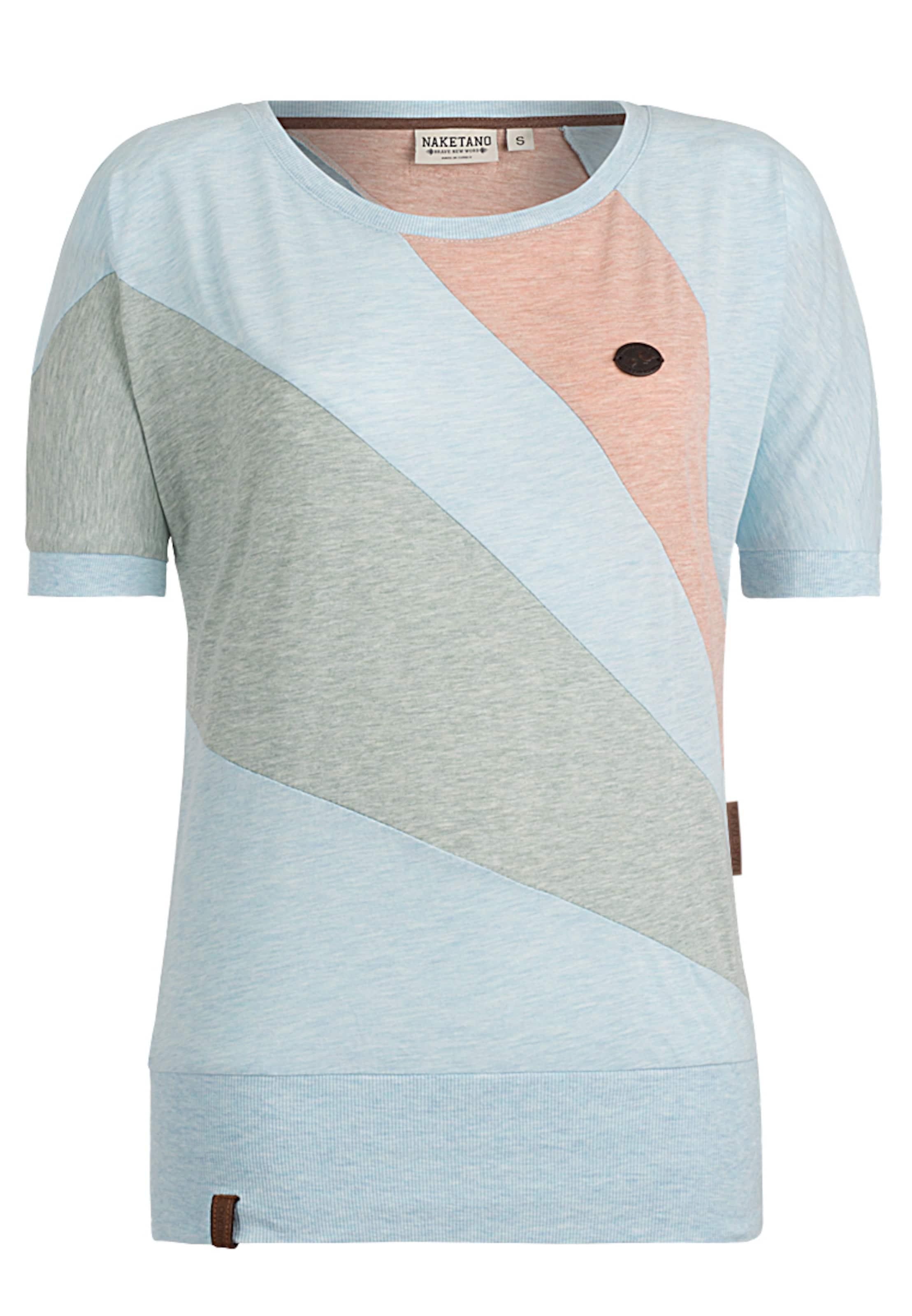 En ClairVert Pêche Chan' T Naketano 'specki Bleu Pastel shirt MSqzVpU
