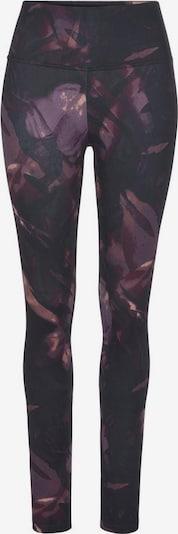 LASCANA ACTIVE Leggings in lila / rosa / schwarz, Produktansicht