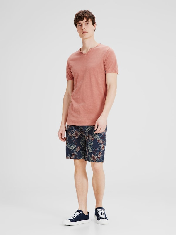 JACK & JONES Split-Neck T-Shirt