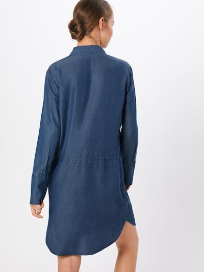 OPUS Jeanskleid in blue denim: Rückansicht