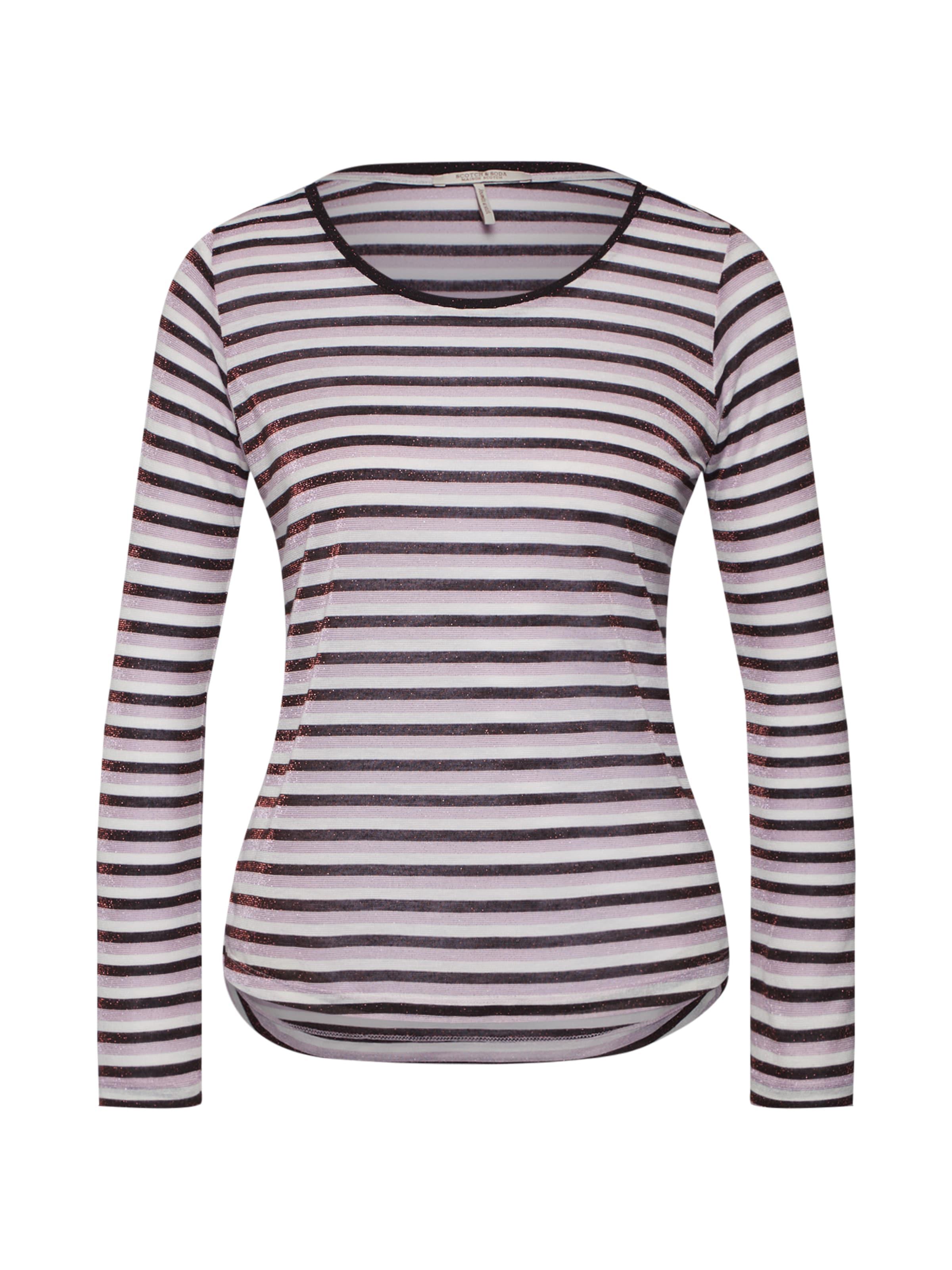 Soda Shirt Weiß LavendelBurgunder In Scotchamp; J53ulKTFc1