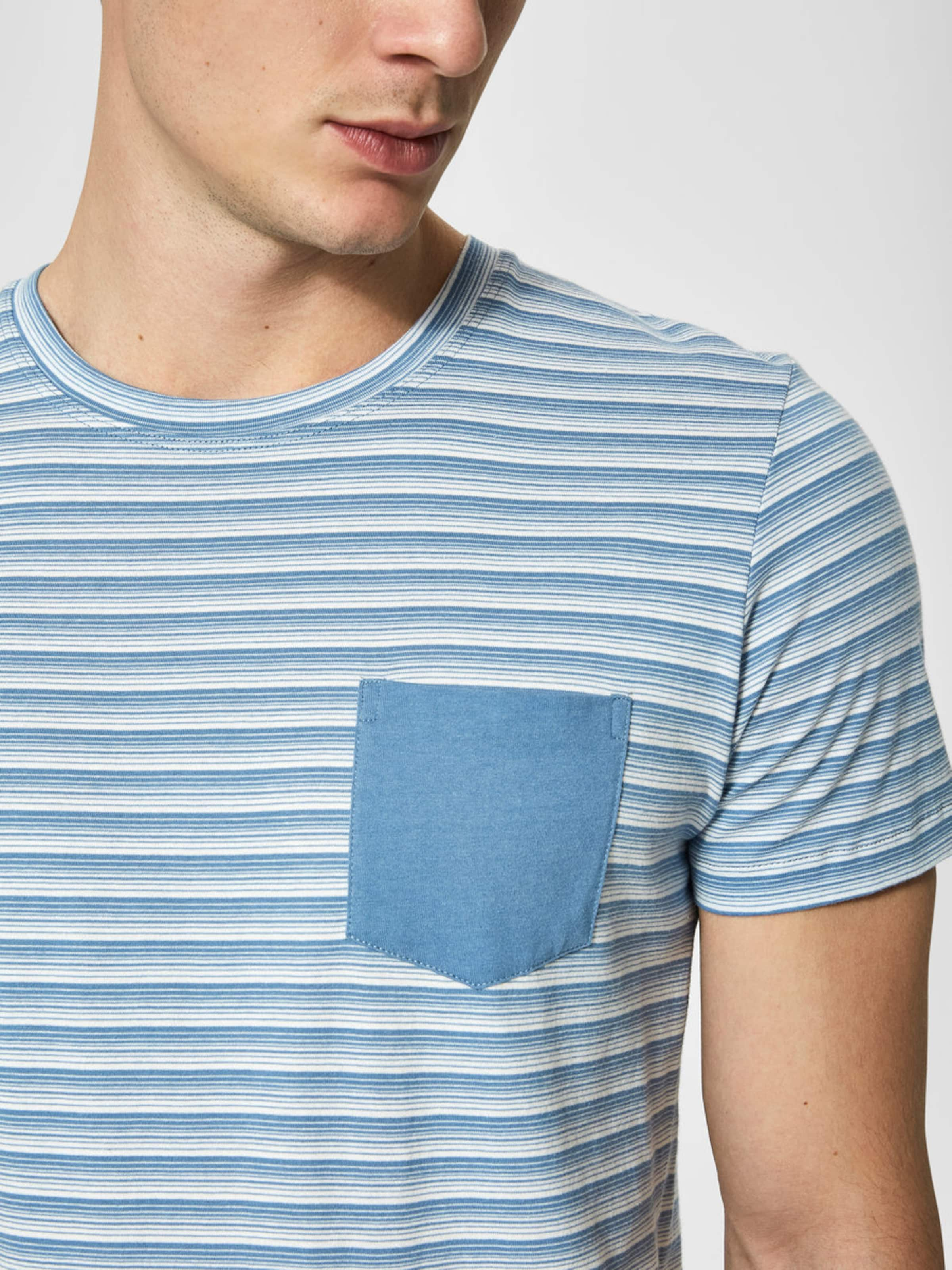 Spielraum Lohn Mit Paypal SELECTED HOMME Rundhalsausschnitt T-Shirt Günstig Kaufen Manchester Aussicht 1O9Pn