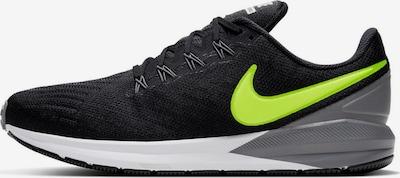 NIKE Sportschuh 'Air Zoom' in limette / schwarz, Produktansicht