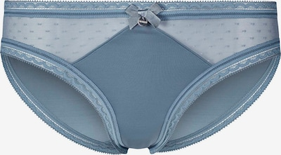 HUBER Slip Body Couture mit Spitzen-Besatz in blau / basaltgrau, Produktansicht