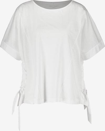 GERRY WEBER Top Gewirke Shirt mit sanftem Schimmer in weiß, Produktansicht