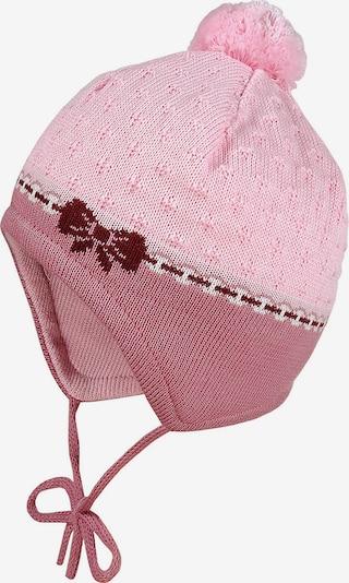 MAXIMO Bommelmütze in rosa / pitaya, Produktansicht