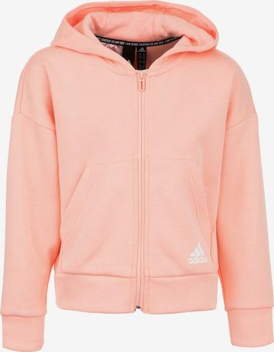 ADIDAS PERFORMANCE Jacke in orange / weiß, Produktansicht