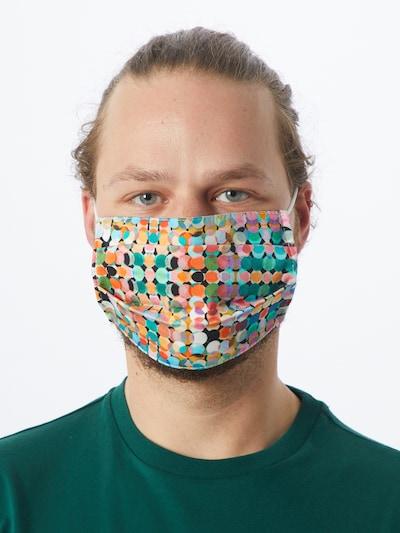 Zwillingsherz Stoffmasken '2er Pack Fasching' in mischfarben: Frontalansicht