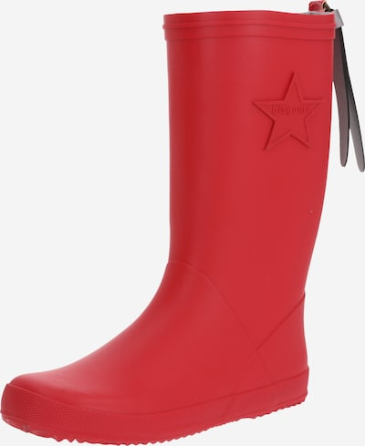 BISGAARD Regenlaarzen in de kleur Rood, Productweergave