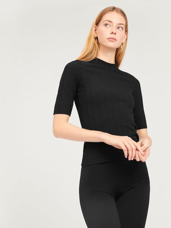 Noir shirt T En Edited 'jeni' 1lTFcKJ