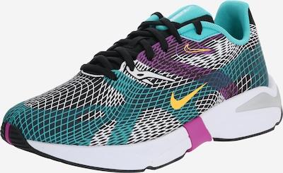 Nike Sportswear Sneakers laag 'Ghoswift' in de kleur Turquoise / Goudgeel / Lila / Zwart / Wit, Productweergave